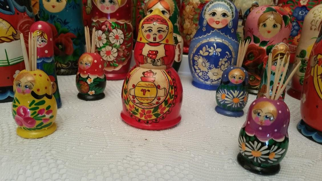 Matryoshka - Russian Wooden Dolls